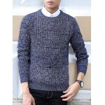 Knit Blends Slimming Long Sleeve Sweater