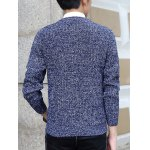 Knit Blends Slimming Long Sleeve Sweater for sale
