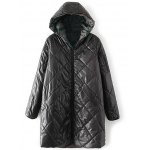 Hooded Camo Quilted Coat deal