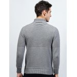 Turtleneck Ribbed Pullover Sweater deal