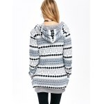 Active Christmas Snowflake Knit Hoodie for sale