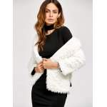 cheap Fuzzy Faux Fur Jacket