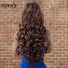 best Adiors Highlight Long Shaggy Wavy Centre Parting Synthetic Wig