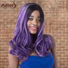 cheap Adiors Highlight Long Wavy Side Parting Synthetic Wig