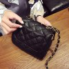 best Chains Rivet Quilted Crossbody Bag