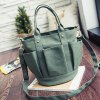 Pockets Canvas Metal Tote Bag for sale