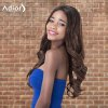 Adiors Long Shaggy Wavy Middle Parting Synthetic Wig deal