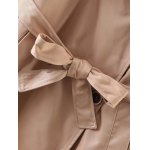 best Slimming Double Breasted Long Trench Coat