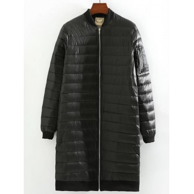 Stand Collar SlimFit Quilted Jacket