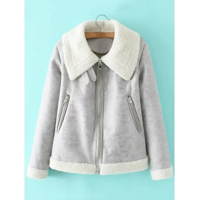 Sueded Padded Jacket