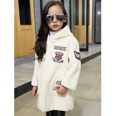 Girls Hooded Patch Long CoatGirls Clothing<br>Girls Hooded Patch Long Coat<br><br>Clothes Type: Fur &amp; Faux Fur<br>Material: Polyester<br>Type: Wide-waisted<br>Clothing Length: Long<br>Sleeve Length: Full<br>Collar: Hooded<br>Pattern Type: Patchwork<br>Embellishment: Pattern<br>Style: Casual<br>Weight: 0.729kg<br>Package Contents: 1 x Coat