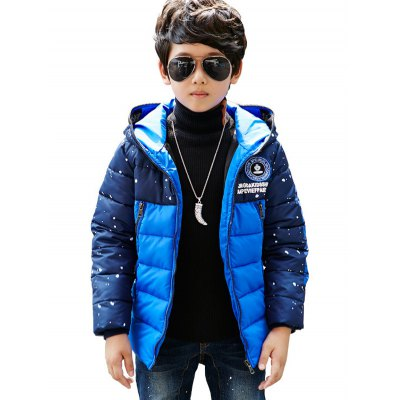 Boys Color Block Letter Print Puffer JacketBoys Clothing<br>Boys Color Block Letter Print Puffer Jacket<br><br>Clothes Type: Padded<br>Material: Polyester<br>Collar: Hooded<br>Clothing Length: Regular<br>Style: Fashion<br>Sleeve Length: Long Sleeves<br>Season: Winter<br>Weight: 0.740kg<br>Package Contents: 1 x Jacket