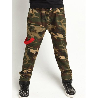 Camouflage Print Pants