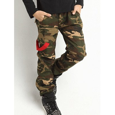 Kids Camouflage Print PantsBoys Clothing<br>Kids Camouflage Print Pants<br><br>Style: Casual<br>Material: Polyester<br>Fit Type: Regular<br>Waist Type: Mid<br>Front Style: Flat<br>With Belt: No<br>Pant Length: Long Pants<br>Pant Style: Straight<br>Weight: 0.235kg<br>Package Contents: 1 x Pants