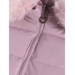 Winter Faux Fur Hooded Down Jacket for sale