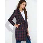 Grid Vintage Pea Coat deal