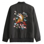 cheap Tigger Embroidered Bomber Jacket