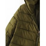 Hooded Slmi Fit Quilted Jacket for sale