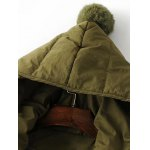 cheap Hooded Slmi Fit Quilted Jacket