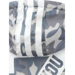 Camo Insert Hooded Zip Up Padded Jacket photo