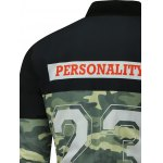 best Camo Graphic Zip Up Padded Jacket