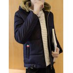Zip Up Wool Hooded Quilted Jacket deal