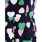 Vintage Colourful Heart Dress for sale