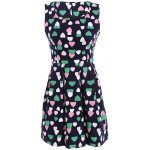 Vintage Colourful Heart Dress