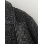 Asymmetric Zipper Berber Fleece Jacket deal