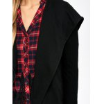best Asymmetrical Zip Hooded Jacket with Lace Trim