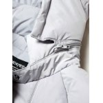 Side Zip Up 79 Patch Quilted Hooded Coat deal