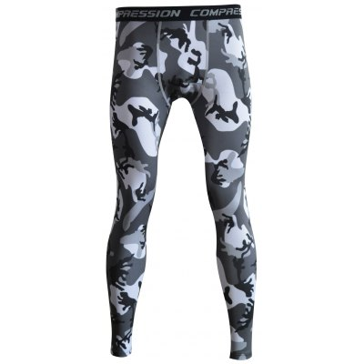 Camouflage Printed Skintight Quick-Dry Gym Pants
