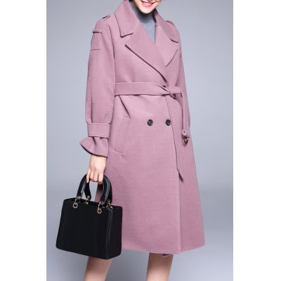 Double Breasted Wool Coat