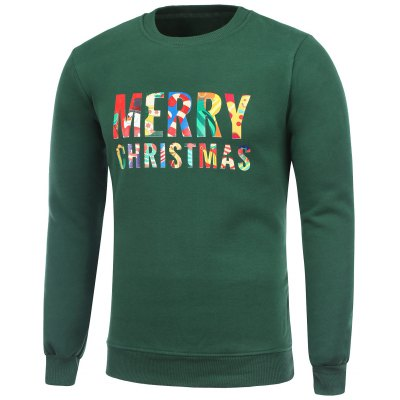 Flocking Merry Christmas Sweatshirt