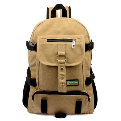 Eyelets Pockets Backpack