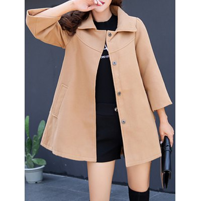 Woolen Loose Coat