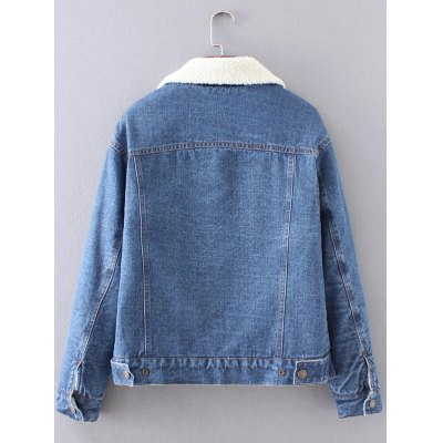 BF Fleece Jean Jacket