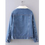 cheap BF Fleece Denim Jacket