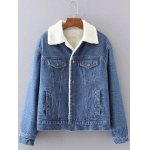 BF Fleece Denim Jacket