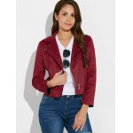 cheap Sueded Rivet Jacket