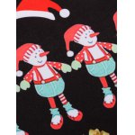 3D Christmas Cartoon Print Flocking Graphic Sweatshirts for sale