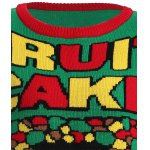 Christmas Fruit Cake Pattern Plus Size Sweater deal