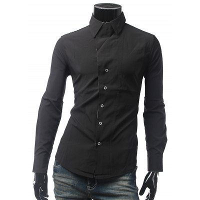One Button Cuff Shirt