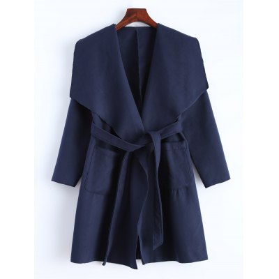Wrap Coat With Pockets