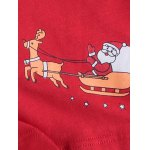 Cartoon Printed U Convex Pouch Christmas Boxer Briefs for sale