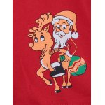best Christmas Cartoon Printed U Convex Pouch Boxer Briefs