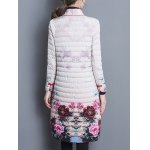 Quilted Vintage Printed Coat deal