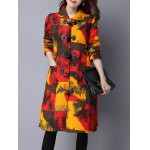 Toggle Patchwork Quilted Coat