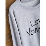 Love Yourself Graphic Sweatshirt for sale