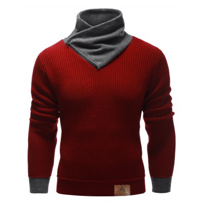 Ribbed Pullover Sweater